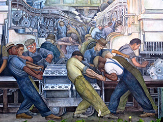 Diego Rivera Fresque Ford Detroit 1932